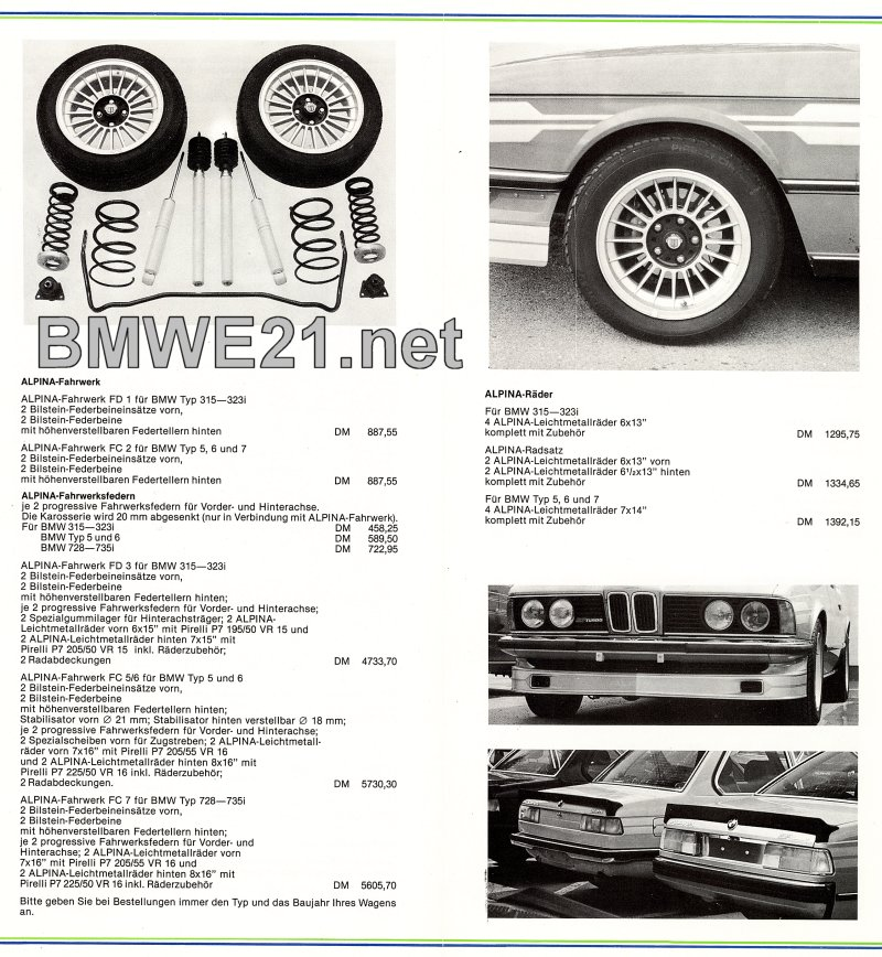 Alpina Parts BMWEnet Jeroens BMW E Network - Alpina bmw parts