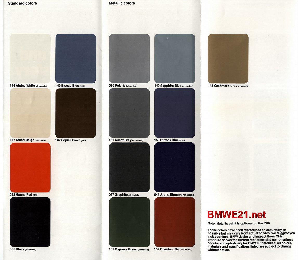 The U S  E21 320i & 320iS | BMWE21 net – Jeroen's BMW E21 Network