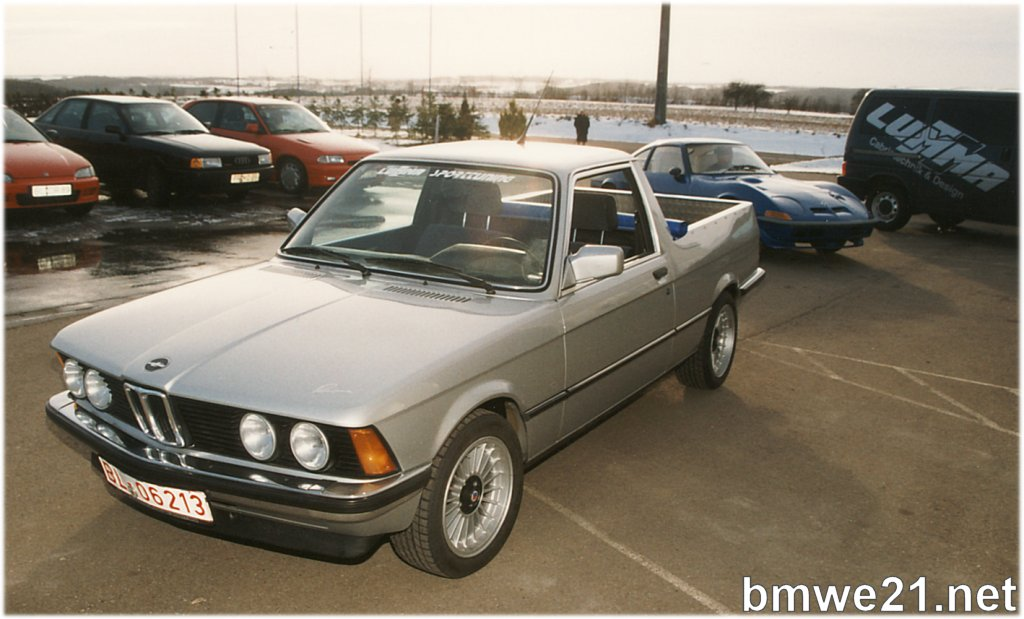 bmw e30 pick up real or no real retro rides. Black Bedroom Furniture Sets. Home Design Ideas
